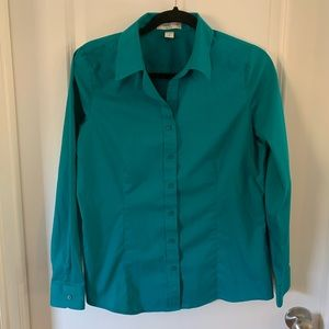Cold water creek button up women's shirt 8 small S